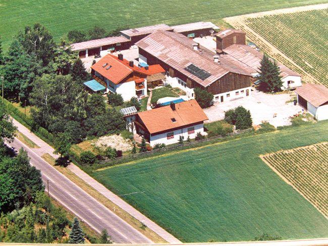 Landhotel Mittermüller Luftaufnahme
